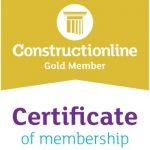 Construction Line - Gold Member