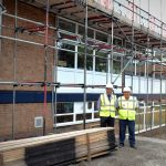 Work Underway at Queen Mary Grammar School
